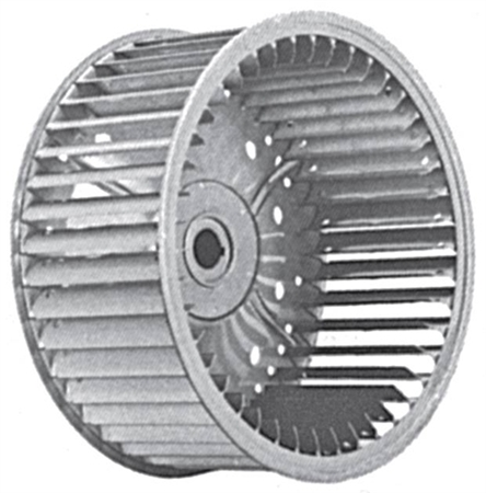 Picture for category Single Inlet Galvanized Blower Wheels for FGP and BD Series Blowers