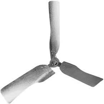 """Picture of 3-Blade 48"""" Stainless Steel Agricultural Propeller"""