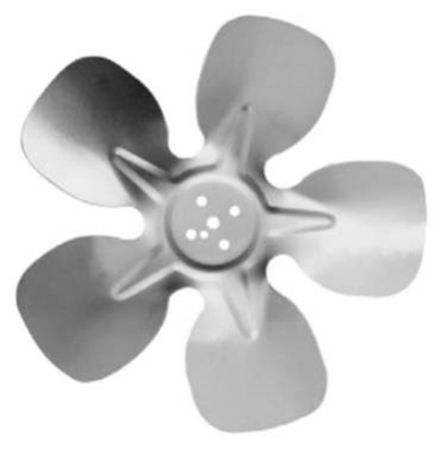 """Picture of 5-Blade 9"""" 20° CW Hubless Style Propeller"""