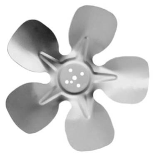"""Picture of 5-Blade 9"""" 31° CW Hubless Style Propeller"""