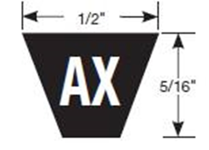 Gates AX74 Tri-Power Belt