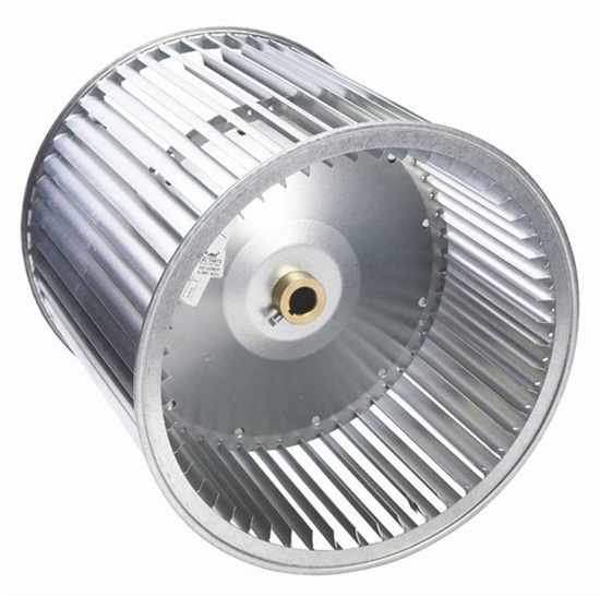 Picture of Double Inlet, Belt Drive Blower Wheel A12-9A (1 3/16 Bore)