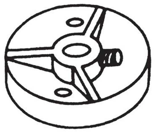 """Picture of Interchangeable Hub 1/4"""" Bore"""