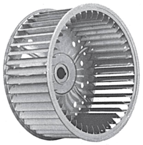 Picture of Single Inlet Galvanized Blower Wheel SI 12-6A CW