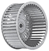 Picture of Single Inlet Galvanized Blower Wheel SI 15-6A CW