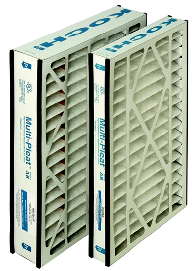 Picture of Koch Multi-Pleat Series AB 20X20X5 Filter