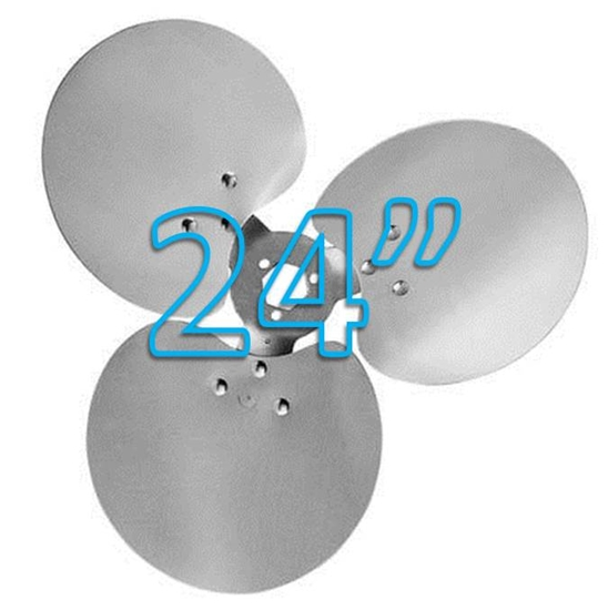"Picture of 3-Blade 24"" 18° CW Free Air Propeller"